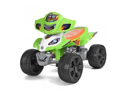 Детский электрический квадроцикл ZP5118E-5 зеленый