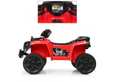 Детский квадроцикл на аккумуляторе ZP5138E-3 красный