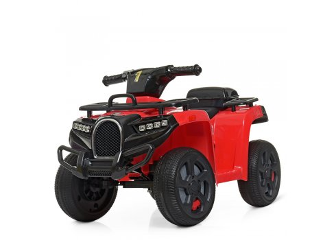Детский квадроцикл на аккумуляторе ZP5258E-3 красный
