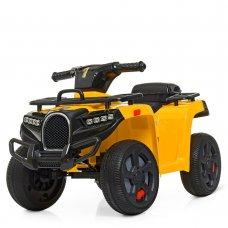 Детский квадроцикл на аккумуляторе ZP5258E-6 желтый