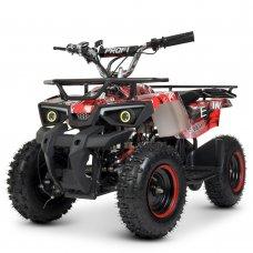 Квадроцикл для подростков (скорость до 22 км/час) PROFI HB-ATV800AS-3 красный