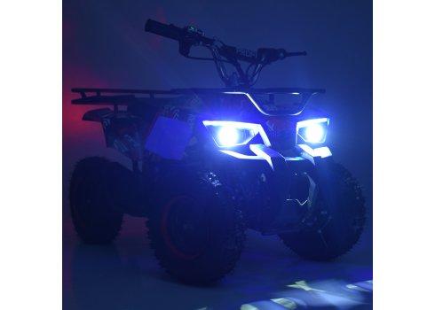 Квадроцикл для подростков (скорость до 22 км/час) PROFI HB-ATV800AS-5 зеленый