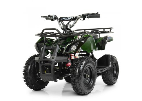 Детский квадроцикл на аккумуляторе, скорость 20 км/час, PROFI HB-EATV800N-10 V3 зеленый камуфляж