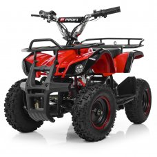 Детский квадроцикл на аккумуляторе, скорость 20 км/час, PROFI HB-EATV800N-3 V3 красный