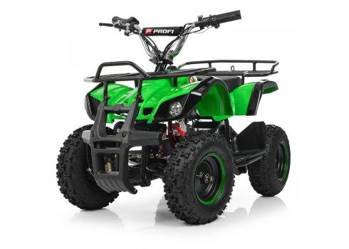 Детский квадроцикл на аккумуляторе, скорость 20 км/час, PROFI HB-EATV800N-5 V3 зеленый