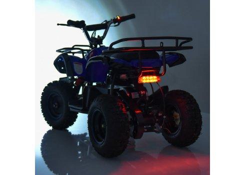 Детский квадроцикл на аккумуляторе, скорость 20 км/час, PROFI HB-EATV800N-4 V3 синий