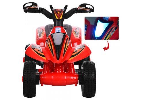 Детский электрический толокар-мотоцикл Bambi 2в1, M 3560E-3 красный