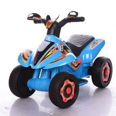 Детский электрический толокар-мотоцикл Bambi 2в1, M 3560E-4 синий