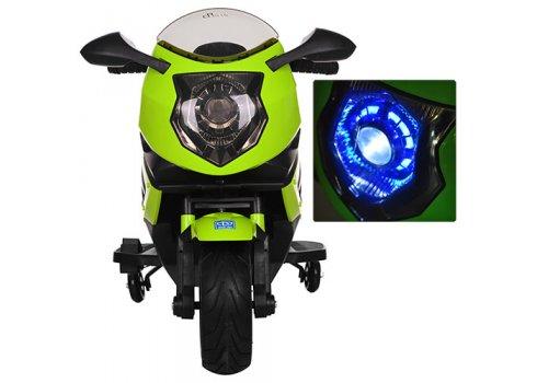 Мотоцикл детский на аккумуляторе BAMBI M 3578EL-5 зеленый