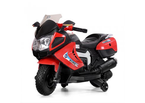 Детский мотоцикл BMW на мягких EVA колесах Bambi M 3625EL-3 красный