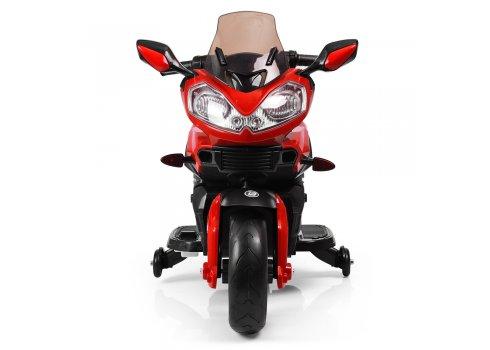 Детский электромобиль мотоцикл M 3630EL-3 красный (дым из выхлопной трубы)