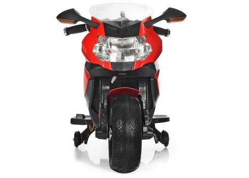 Детский двухколесный электрический мотоцикл Bambi M 3636EL-3 красный
