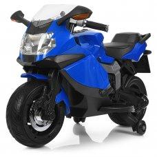 Детский двухколесный электрический мотоцикл Bambi M 3636EL-4 синий