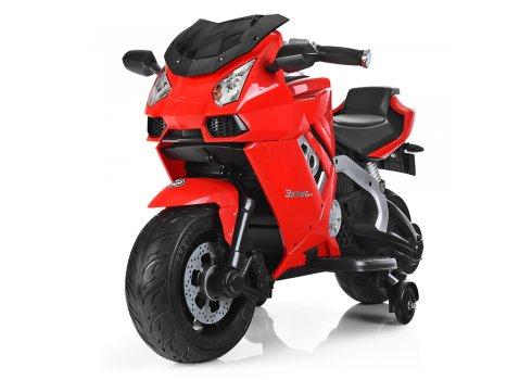 Детский электрический мотоцикл Lamborghini Bambi M 3637EL-3 красный