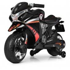 Детский мотоцикл на аккумуляторе M 3682L-2 черный
