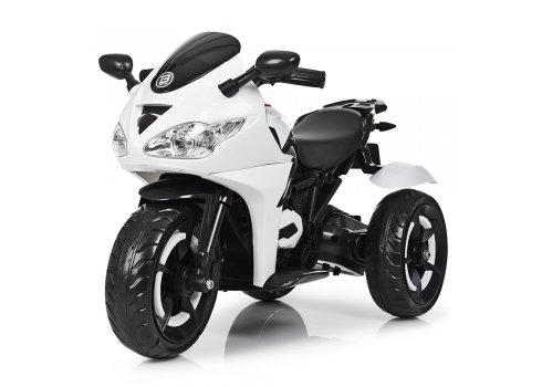 Детский трехколесный электромотоцикл Bambi M 3683L-1 белый