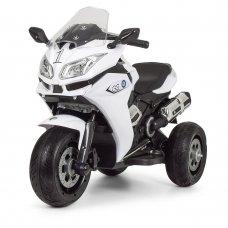 Детский трехколесный электрический мотоцикл BMW M 3688EL-1 белый