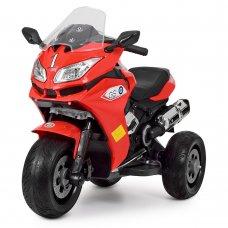 Детский трехколесный электрический мотоцикл BMW M 3688EL-3 красный