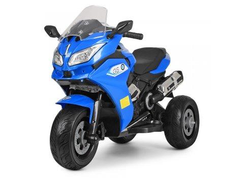 Детский трехколесный электрический мотоцикл BMW M 3688EL-4 синий