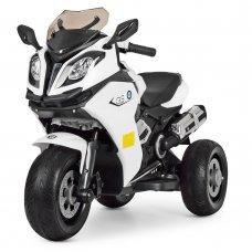 Детский электромобиль Мотоцикл BMW, M 3913EL-1 белый