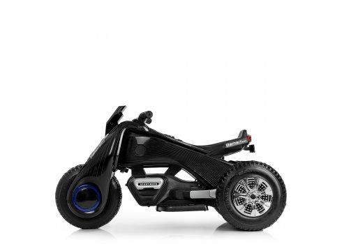 Детский трехколесный мотоцикл BMW Hurricane на резиновых колесах M 3926A-2 черный