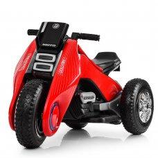 Детский трехколесный мотоцикл BMW Hurricane на резиновых колесах M 3926A-3 красный