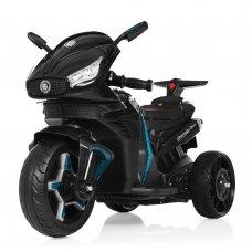Детский электромобиль мотоцикл с 2-мя мощными моторами M 3965EL-2 черный