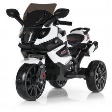 Детский трехколесный мотоцикл M 3986EL-1 белый