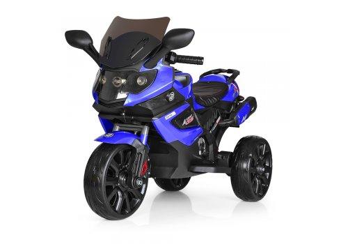 Детский трехколесный мотоцикл M 3986EL-4 синий