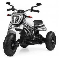 Детский Мотоцикл Ducati на надувных колесах, M 4008AL-1 белый