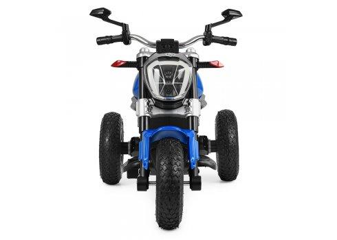 Детский Мотоцикл Ducati на надувных колесах, M 4008AL-4 синий