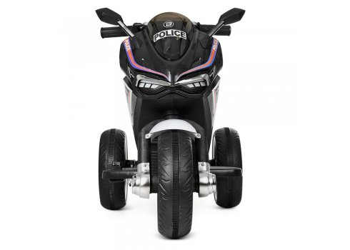 Детский трехколесный мотоцикл на аккумуляторе M 4053L-2 черный
