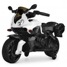 Детский двухколесный электрический мотоцикл Bambi M 4080EL-1 белый