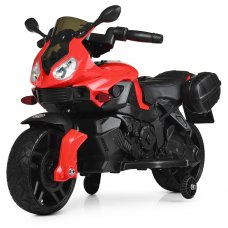 Детский двухколесный электрический мотоцикл Bambi M 4080EL-3 красный