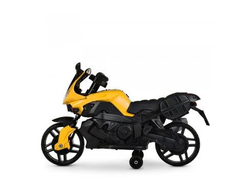 Детский двухколесный электрический мотоцикл Bambi M 4080EL-6 желтый