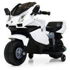 Детский двухколесный электрический мотоцикл Bambi M 4082-1 белый