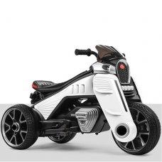 Детский трехколесный электромотоцикл M 4113EL-1 белый