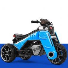 Детский трехколесный электромотоцикл M 4113EL-4 синий