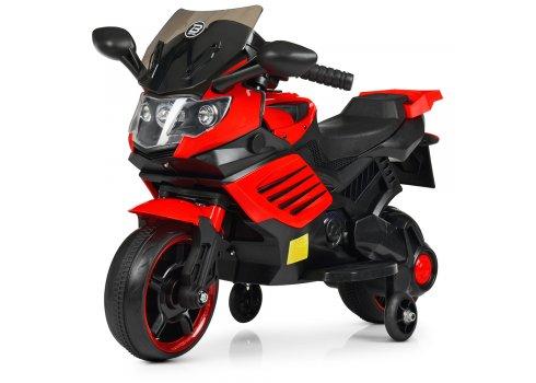 Детский двухколесный электрический мотоцикл Bambi M 4116-3 красный