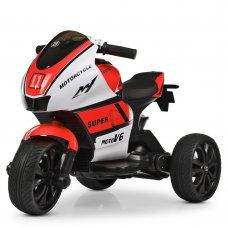 Детский трехколесный мотоцикл Yamaha Bambi M 4135EL-1-3 красно-белый
