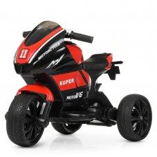 Детский трехколесный мотоцикл Yamaha Bambi M 4135EL-3 красный