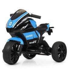 Детский трехколесный мотоцикл Yamaha Bambi M 4135EL-4 синий