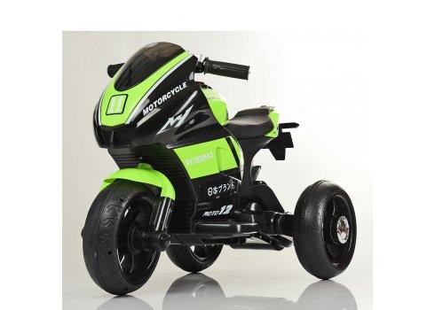Детский трехколесный мотоцикл Bambi M 4135L-5 зеленый