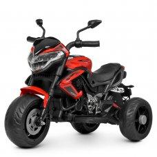 Деткий трехколесный мотоцикл Bambi M 4152EL-3 красный