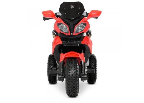 Детский мотоцикл на надувных колесах для детей от 3 лет Bambi Racer M 4188AL-3 красный