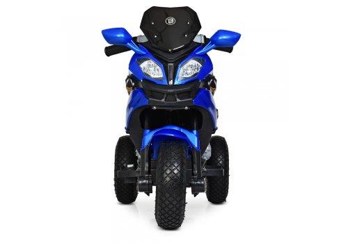 Детский мотоцикл на надувных колесах для детей от 3 лет Bambi Racer M 4188AL-4 синий
