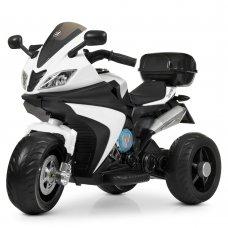 Детский трехколесный электромотоцикл Bambi M 4195EL-1 белый