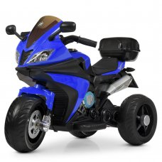 Детский трехколесный электромотоцикл Bambi M 4195EL-4 синий