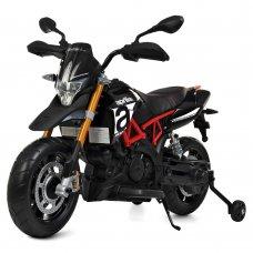 Детский двухколесный электромотоцикл M 4252EL-2 черный