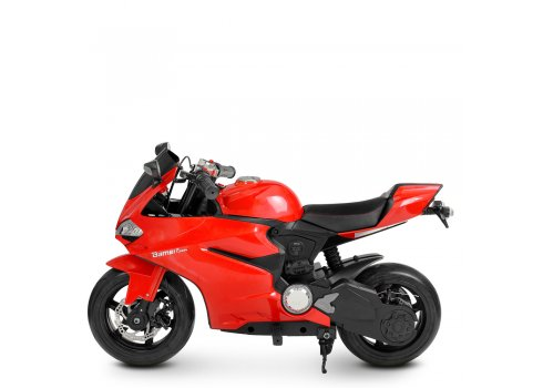 Мотоцикл на аккумуляторе для детей 8-12 лет Bambi Racer M 4262EL-3 красный